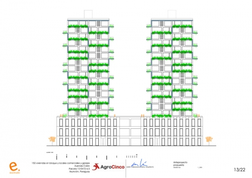 150 Housing Block, Asunción, Paraguay