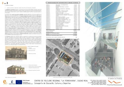 """Second prize at the REGIONAL FOLKLORE CENTRE """"LA FERROVIARIA"""""""