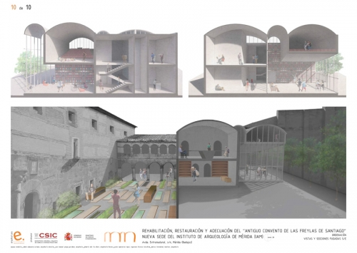 First Prize Competition Convent of the Freylas