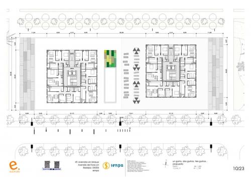 Senpa 45 housing block